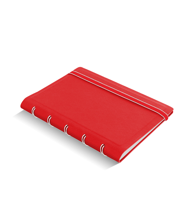Filofax - Pocket Notebook - Red