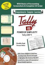 Tally Erp 9 (Power of Simplicity) by Shraddha Singh
