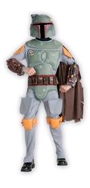Star Wars: Boba Fett Deluxe Costume - Childrens Size Medium image