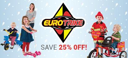 25% off Eurotrike