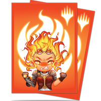 Sleeves Standard 100ct Magic Chibi Collection Chandra Maximum Power