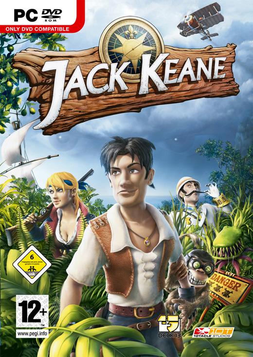 Jack Keane (Jewel case packaging) for PC image