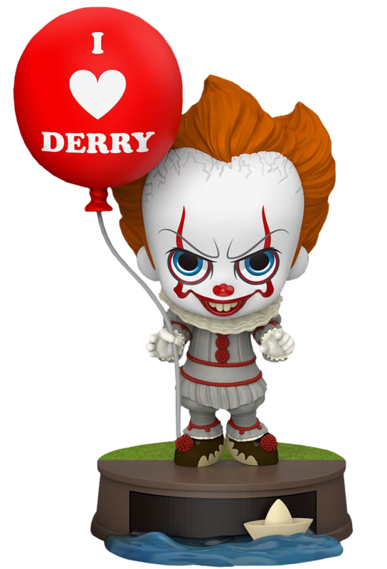 It: Chapter 2 - Pennywise (with Balloon) Cosbaby Figure