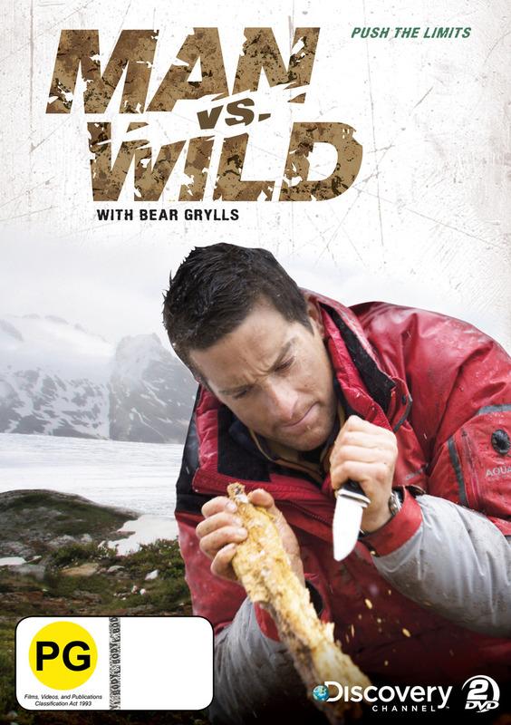 Man Vs Wild - Season 1 Collection 2: Push the Limits on DVD