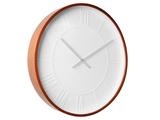 Karlsson Mr White Roman Wood Wall Clock