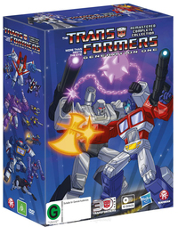 The Transformers: Generation One - Remastered Complete Collection Box Set on DVD