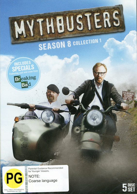 Mythbusters - Season 8 Collection 1 on DVD