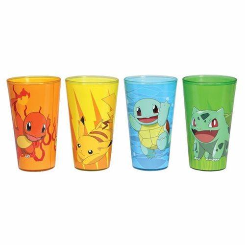 Pokemon Pint Glass - 4-Pack (473ml)