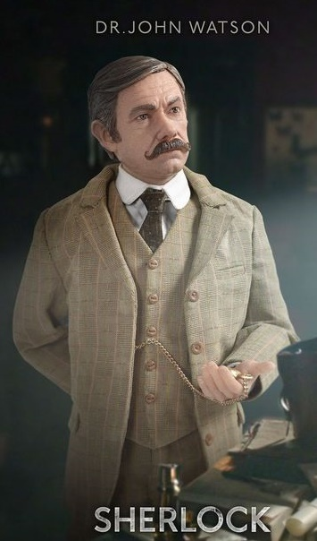 "Sherlock - 12"" Dr John Watson (The Abominable Bride) Articulated Figure image"
