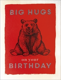 Archivist: Big Hugs on your Birthday Card image