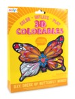 Ooly: 3D Colorables Activity Kit - Butterfly Wings