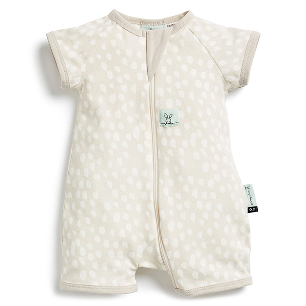 ErgoPouch: 0.2 TOG Short Sleeve Layers - Fawn/3-6 months