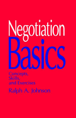 Negotiation Basics by Ralph A. Johnson image