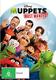 Muppets Most Wanted on DVD image