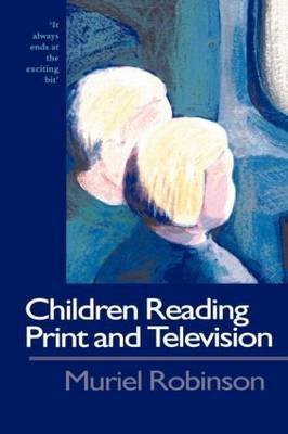 Children Reading Print and Television Narrative by Muriel Robinson image