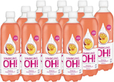 Sparkling OH! (Peach & Passionfruit, 500ml x 12)
