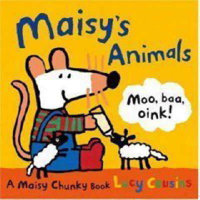 Maisy's Animals: A Maisy Chunky Book by Lucy Cousins image