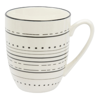 Etta Black and White Masa Mug (8.5 x 11cm)