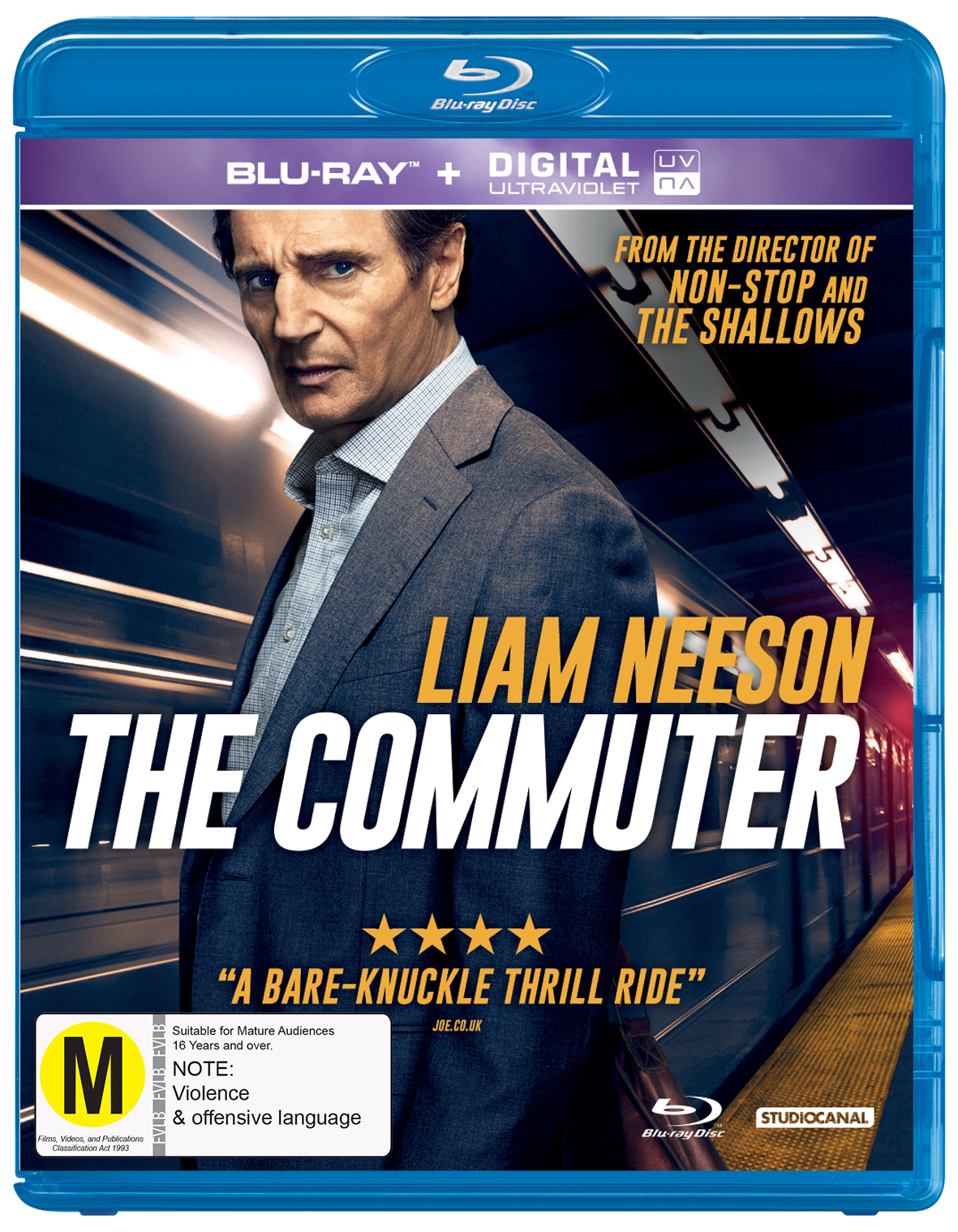 The Commuter on Blu-ray image