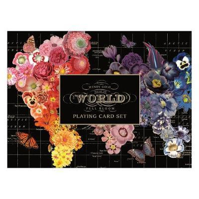 Galison: Playing Cards - Wendy Gold Full Bloom