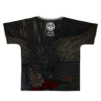 Monster Hunter: World Full Graphic T-Shirt B-Side Label Nergigante XL image