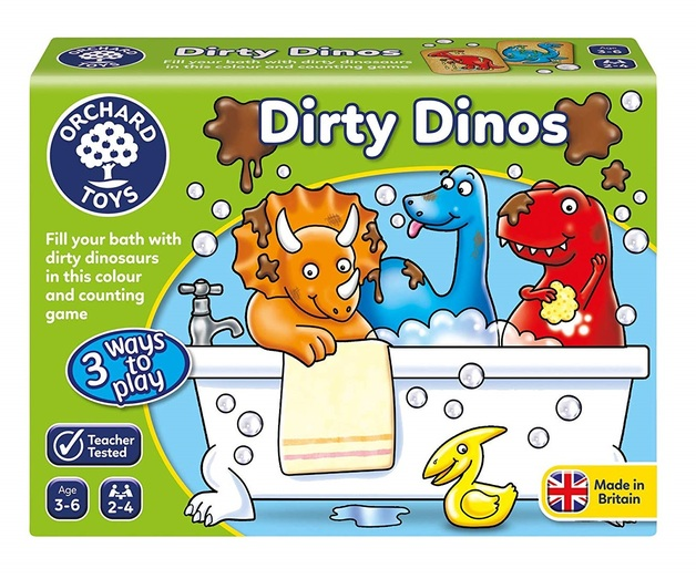 Orchard Toys: Dirty Dinos - Educational Game