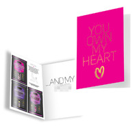 Naughty Notes Greeting Card - You Own My Heart