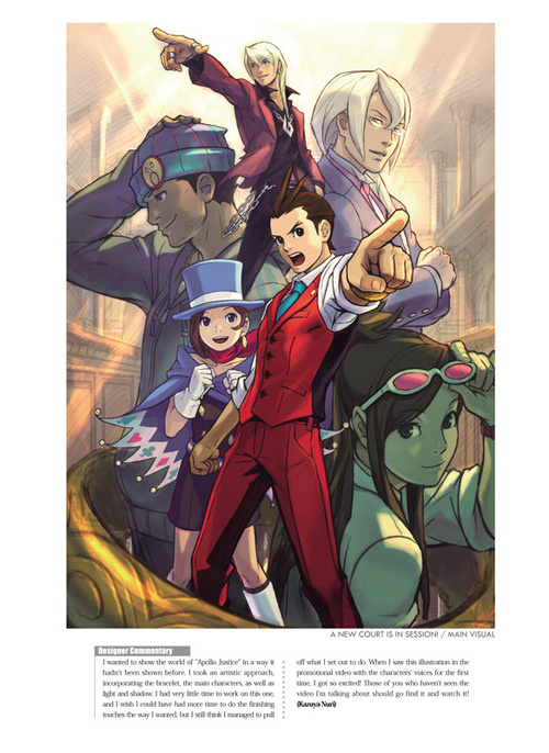 The Art of Phoenix Wright: Ace Attorney by Capcom image