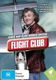 James May's Toy Stories Special: Flight Club on DVD