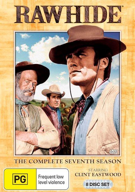 Rawhide: The Complete Seventh Season (8 Disc Boxset) on DVD