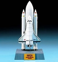 Academy Space Shuttle with Booster Rockets 1/288 Model Kit image