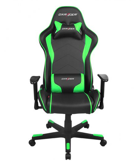 Dxracer Formula Series Gaming Chair Black And Green