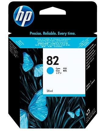 HP No. 82 Cyan Ink Cartridge