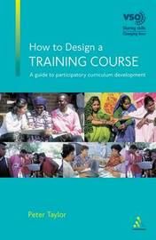 How to Design a Training Course by Peter Taylor