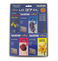 Brother Ink Cartridges LC37CL3PK (Multi-Colour)(3 Pack) image