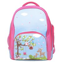 BobbleArt School Backpack - Woodland