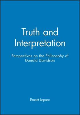 Truth and Interpretation by Ernest Lepore image