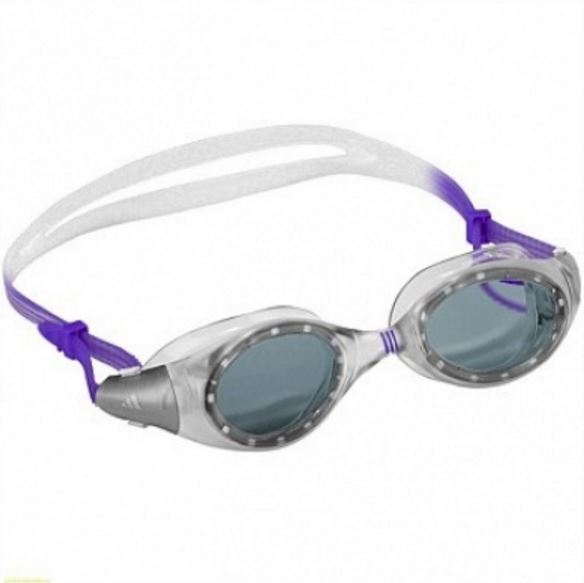 Adidas Aquazilla Goggles - Smoke Lens (Clear/Lilac)