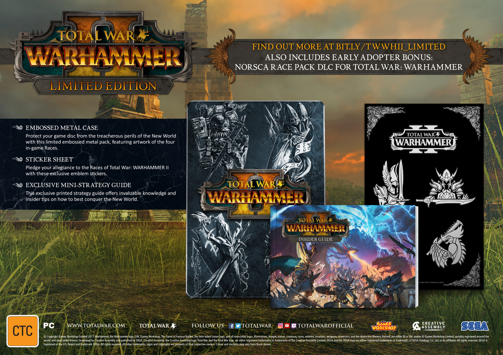 Total War: Warhammer II Limited Edition for PC Games image