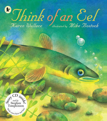 Think Of An Eel Library Edition by Karen Wallace image