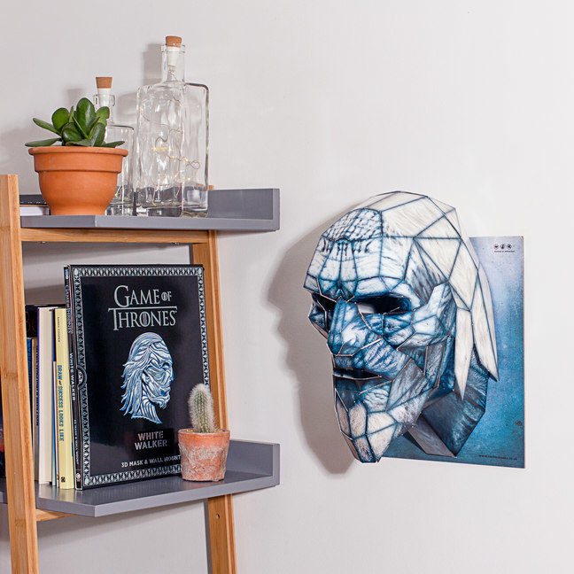 Game of Thrones Mask and Wall Mount - White Walker by Wintercroft image