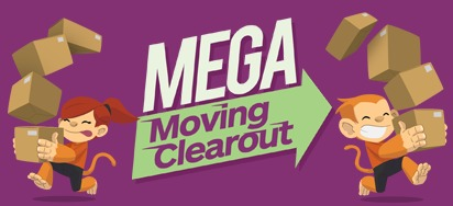 MEGA Moving Clearout!