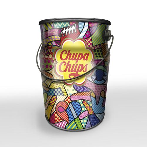 Chupa Chups Creamosa Nostalgia Tin (80 Pieces)