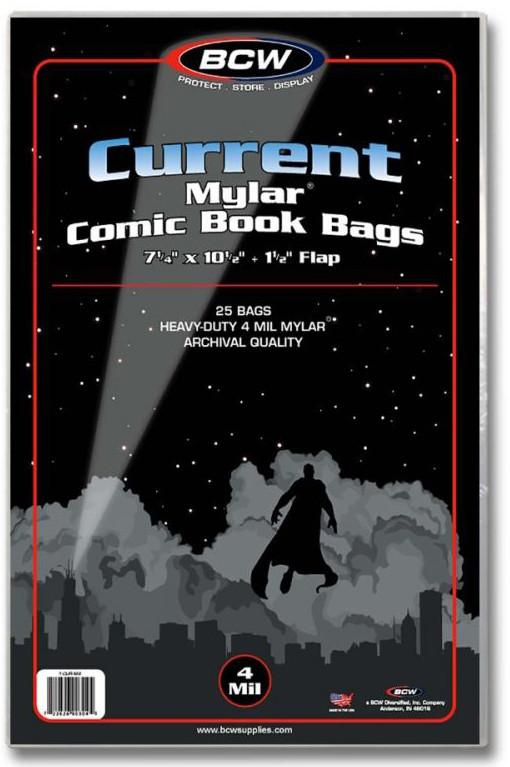 BCW: Comic Book - 4-mil Mylar Archivals (Current/Modern)