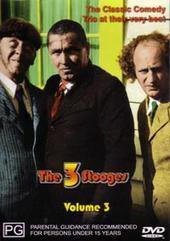 Three Stooges - Vol. 3 (Magna) on DVD