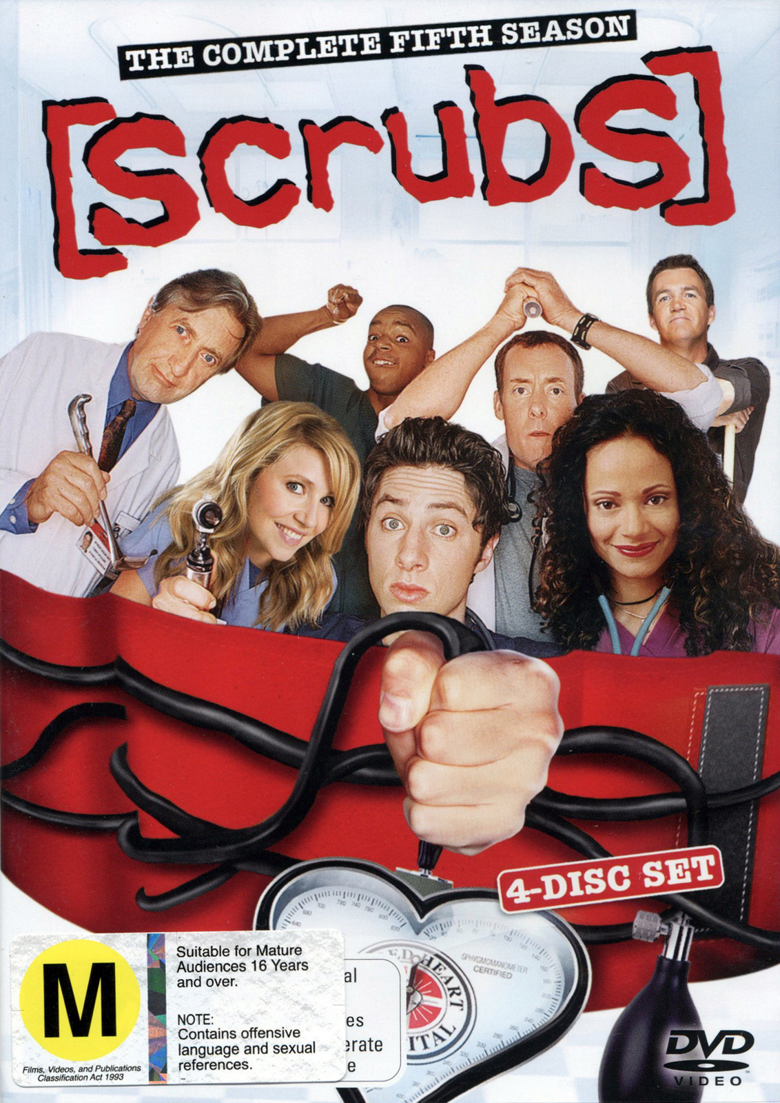 Scrubs - Season 5 on DVD image