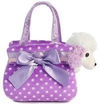 Aurora: Fancy Pal Pet Carrier - Purple Polka Dot