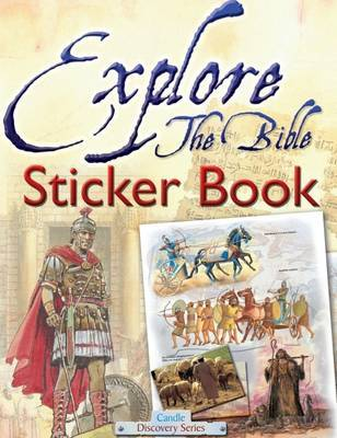 Explore the Bible Sticker Book by Tim Dowley image