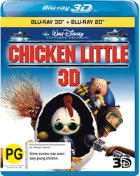 Chicken Little 3D on Blu-ray, 3D Blu-ray