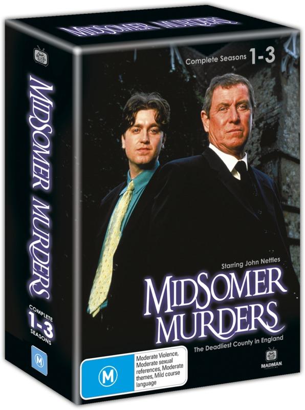 Midsomer Murders - Complete Seasons 1-3 Box Set on DVD